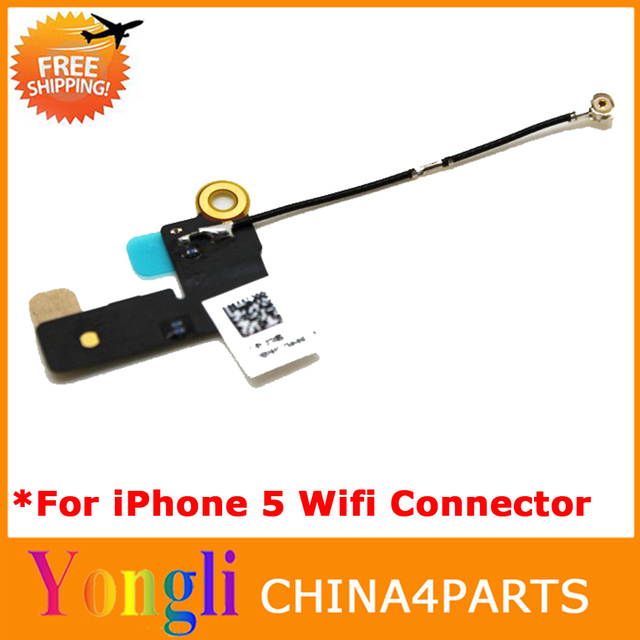 [Original] 500pcs/lot Free DHL/EMS New Flex Cable WiFi for Apple iPhone 5 GSM AT&T PCB Ribbon Signal Wi Fi Parts Free Shiping