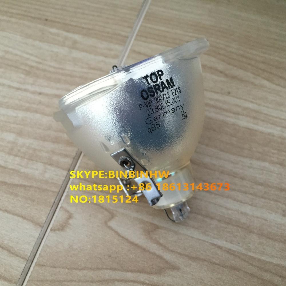 Genuine Original Replacement Bare Bulb/ LAMP FIT For Osram P-VIP 300/1.3 E21.8 P-VIP 300/1.3 E21.8e)