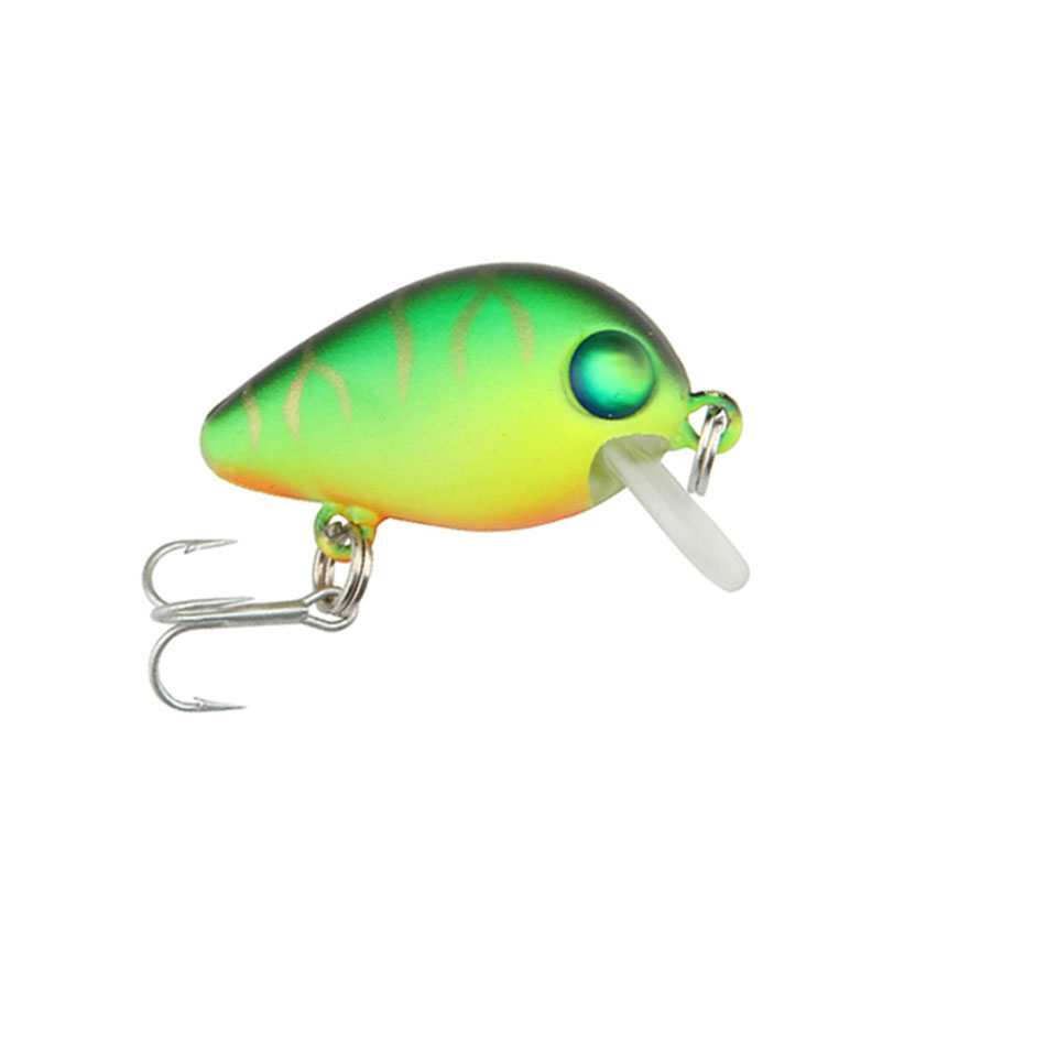 1PCS 3cm 2g Mini Top Water Crank Hard Lure For Sea Carp Fly Fishing Spinner Bait Accessories Jig Hooks Tool Wobblers Fish Sport goture ice fishing baits metal jig drop jig grub spoon 0 6 6 2g hard artificial bait carp fishing accessories lure box 40pcs