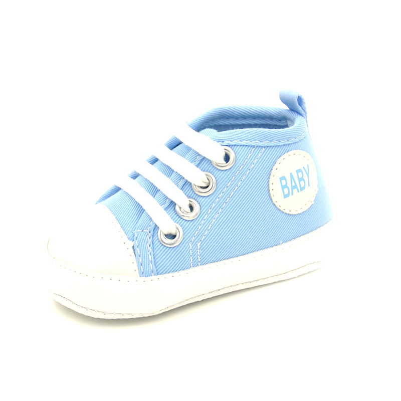 2017New Spring Style Baby First Walkers Newbor Baby Boy And Girl Sneakers Canvas Shoes Infantil Soft Bottom Kids Shoes 8 Colors
