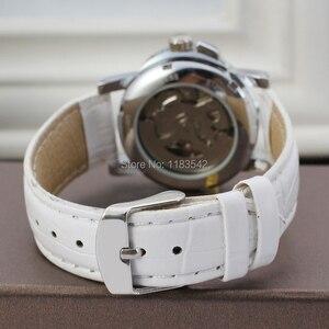 Image 4 - 승자 여성 시계 최신 디자인 시계 레이디 최고 품질 시계 공장 쇼핑 패션 손목 시계 색상 흰색 WRL8011M3S10