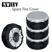 NWIEV 1X Car Spare tire cover Dustproof and Rainproof For Renault Megane 2 3 VW Golf 4 5 7 6 MK4 Honda Civic Accord Accessories