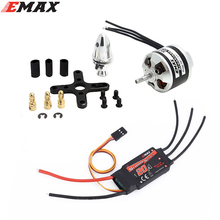 цены на Original EMAX XA2212 KV820 / KV980 / KV1400 Brushless Motor With Emax Simonk 20A ESC for DJI F450 F550 RC Quadcopter  в интернет-магазинах