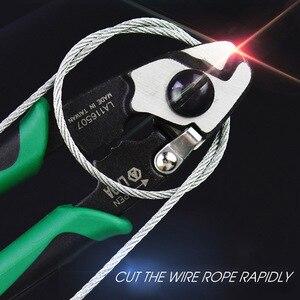 Image 2 - 7 дюймовые ножницы для резки проволочной веревки LAOA, многофункциональные американские ножницы для резки проволоки, модели le116507