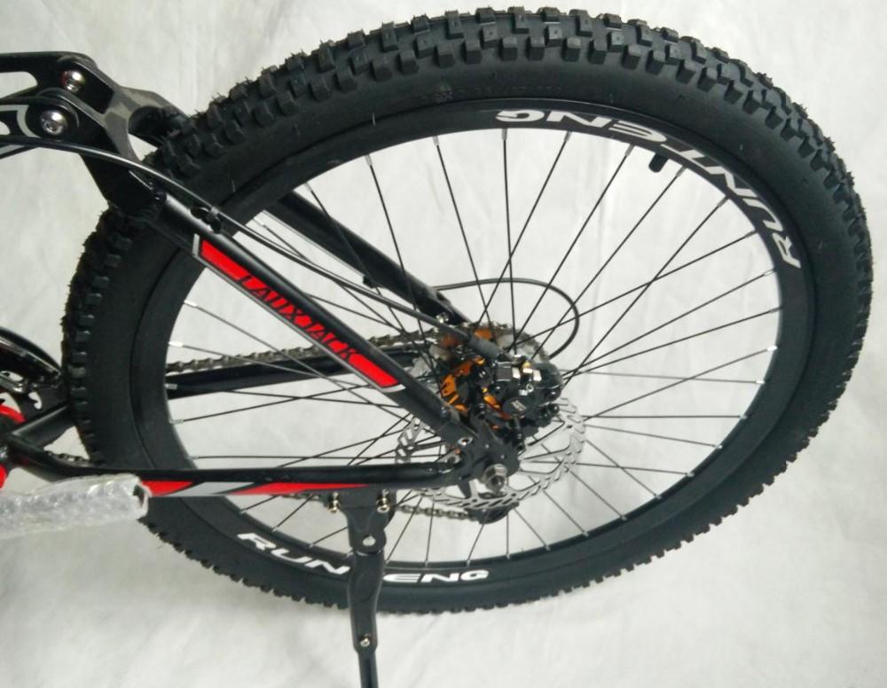 Sale tyre dirt bike   Full suspension  AM/XC    Hydraulic brakes  new cycling bicicleta mountain bike  21/24/27/30 speed  26*17inch 10