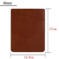 2016 Advanced Leather Ebook Ereader Power Bank Cover Case Pouch For Kindle 8th 2016 Kobo Nook