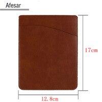 2016 avancée en cuir ebook ereader power bank couverture case poche pour Kindle 8e 2016 kobo nook manches sac fit pour 16*12.8 cm