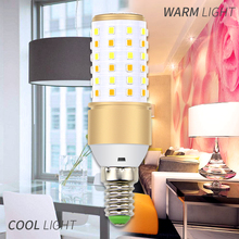 E27 LED Bulb E14 Corn LED Lamp 220V Light Bulb Candle Lamp 110V LED Bulb High Brightness 4W 5W 7W Three Modes Lights For Home цена