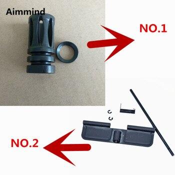 Tactique. 223 bouton de boulon dassistance avant et ensemble de couvercle anti-poussière pour M4/M16