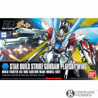 OHS Bandai HG Build Fighters 009 1/144 Star Build Strike Gundam Plavsky Wing Mobile Suit Assembly Model Kits oh