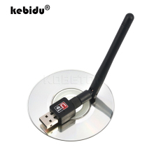 kebidu Mini USB Wifi Router Networking Card 150Mbps Wireless wi-fi Adapter 150M LAN Network Card 802.11n/g/b Antenna For Laptop