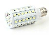 10PCS/lot E27 85 265V Warm White 7W Ultra bright 41 pcs 5050 LED Corn Light Bulb Lamp 360 degree Worldwide Free Shipping