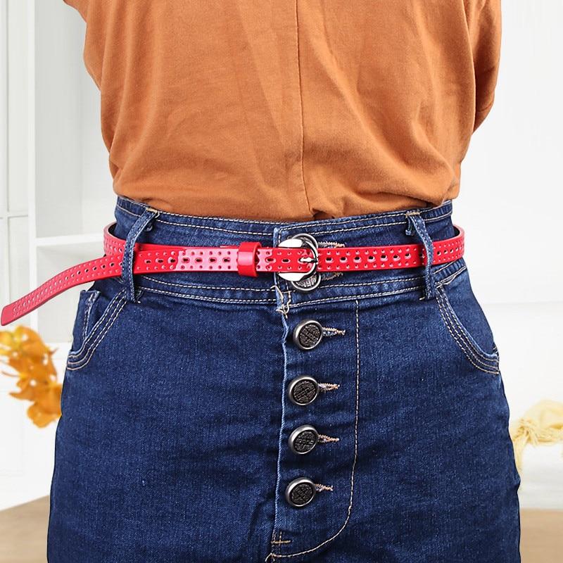 Belts Skirt Jeans Decorative-Belt Women Dress Female Black Blue Buckle Vintage Hollow
