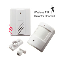 Entry Door Alarm Chime Doorbell Wireless IR PIR Motion Sensor Alarm Patrol Detector For Driveway Garage Infrared Alert Security|detector infrared|detector alarm|detector motions -
