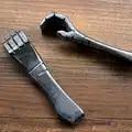 De alta Qualidade Feitas À Mão 304 Aço Inoxidável Mão Pequena Estilo Saca rolhas Chaveiro Chave Pingente anel de Ferramentas EDC