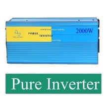 CE низкое потребление 12 В/24 В 2000 Вт чистая синусоида солнечных инверторов от сетки