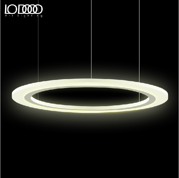 Modern Circle LED Bedroom Pendant Lights 20/40CM Suspension Luminaire Acrylic Pendant Lighting For Restaurants Bar Lamp Fixtures 2015 brief modern fashion circle pendant lights voltage 220 240v
