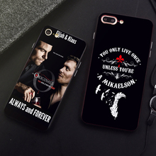 DK Always and forever fashion phone case for Samsung s8 s9plus S6 S7Edge S5 Black Cover for iPhone 6 6s 7 8plus 5 X XS XR XSMax