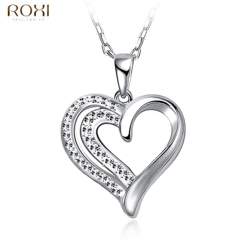 ︻ROXI Цепочки и ожерелья для Для женщин кулон сердце Fine ...