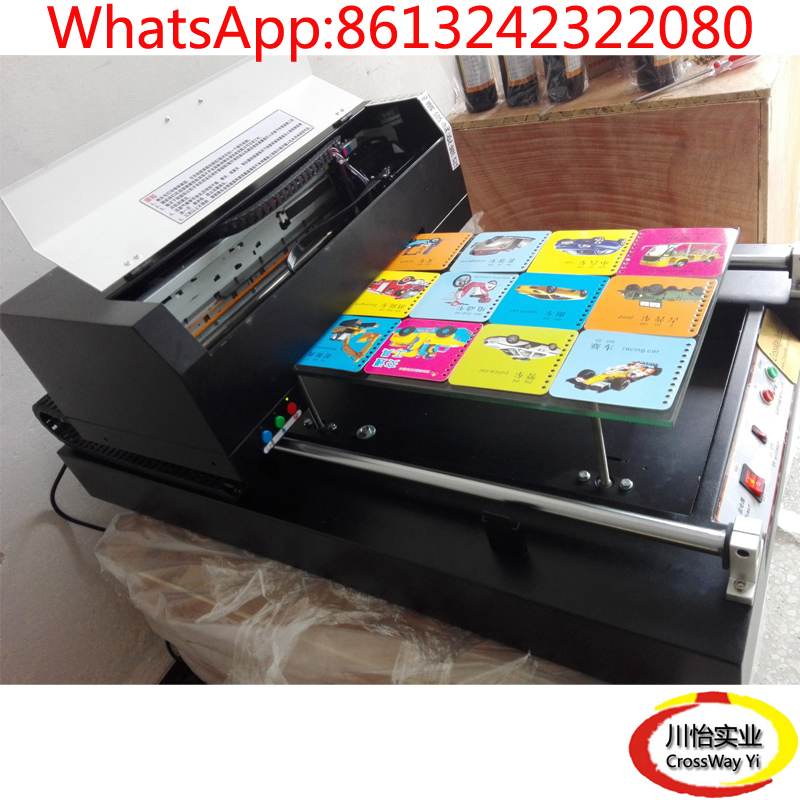 A3 Size UV Acrylic Plastic Metal Printer