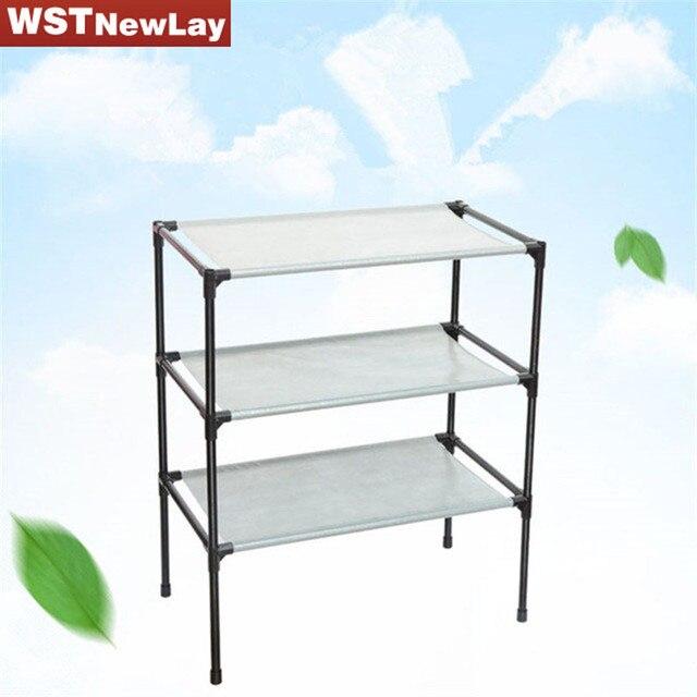 Etonnant Portable Folding Metal Shoe Racks Multilayer Non Woven Fabric Combination  Dustproof Simple Shoes Shelf Storage Cabinet