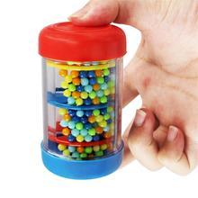 9 см односекционный звук дождевик шейкер красочный дождевик музыкальный инструмент раннего обучения музыкальная игрушка подарок