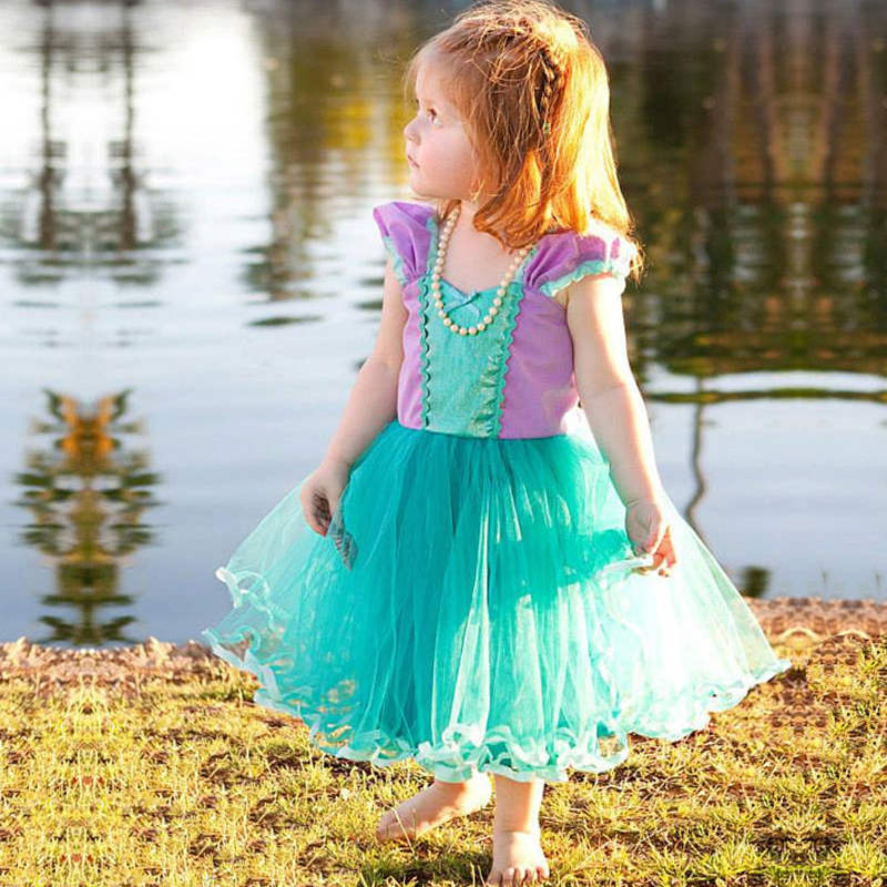 Little Princes Baby Girl Dress Tutu Prom Gown Party Dresses for Girl Costume Kids Cosplay Birthday Party Outfits 2-6T Clothing infant baby kid children little girl pageant dress party dresses prom dresses 1t 6t g026