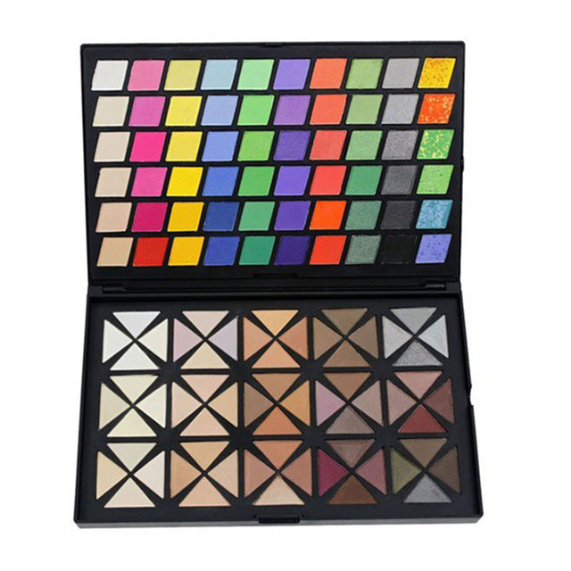 1pcs Professional Makeup Eyeshadow Palette set 120 Full Colors Eye shadow Cosmetics Mineral Make Up palette Kit