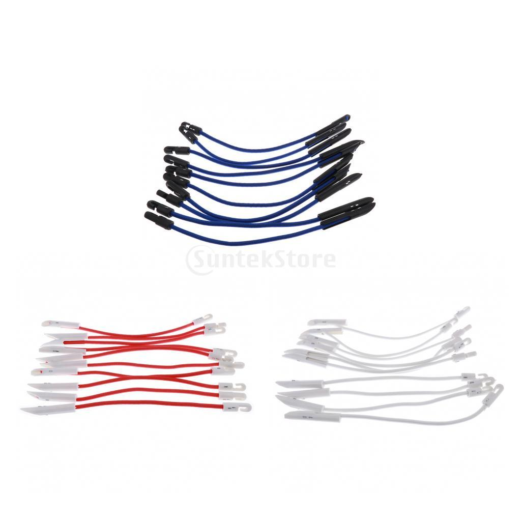 Marine Hardware Boat Parts & Accessories 10 Sets White Bungee Shock Cord Clip Loop Boat Truck Tarp Canvas Cover With Knob Keep You Fit All The Time