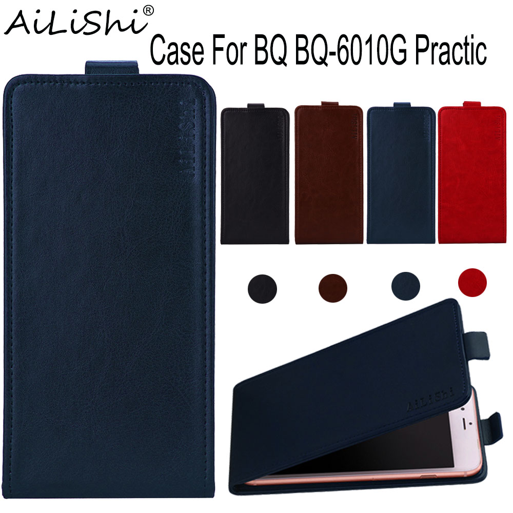 AiLiShi Case For <font><b>BQ</b></font> <font><b>BQ</b></font>-<font><b>6010G</b></font> Practic Flip Top Quality PU Leather Case <font><b>BQ</b></font> <font><b>6010G</b></font> Exclusive 100% Phone Protect Cover Skin+Tracking image