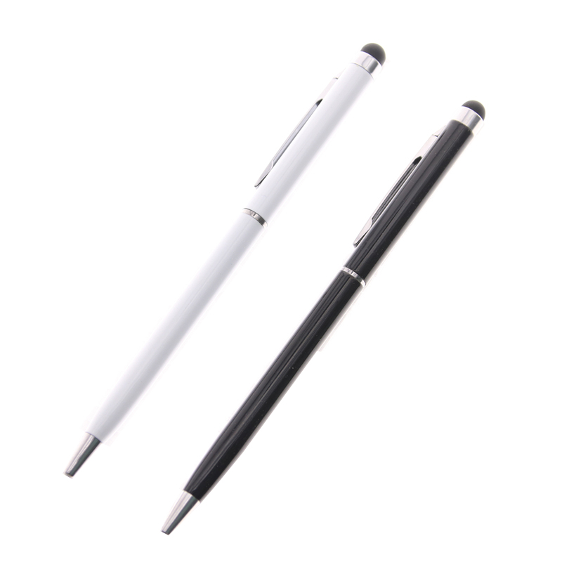 2in1 Capacitive Touch Screen Stylus Ballpoint Pen For Ipad 2 3 For Iphone 4 4s Blue Free Drop Shipping Material Pen чехол для alcatel one touch 5015d pixi 3 5 dual sim alcatel fc5015 case book серебристый