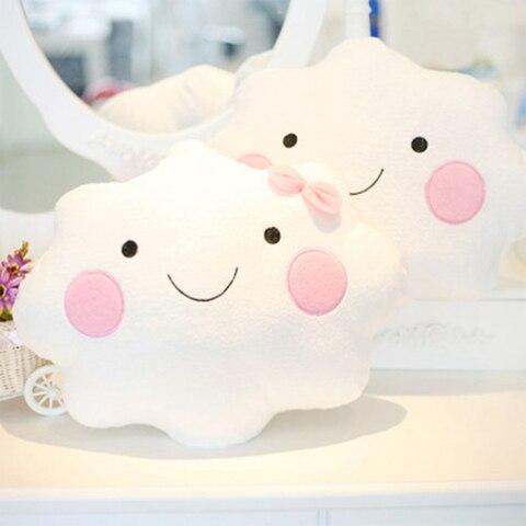 decoracao do quarto do bebe travesseiro bebe recem nascido almofada criancas dormir jogar almofada nuvens