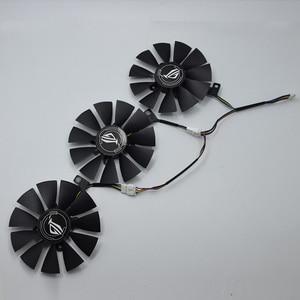 Image 1 - For ASUS Strix GTX 1060 OC 1070 1080 GTX 1080Ti RX 480 T129215SU 87MM Graphics Card Cooler Fan