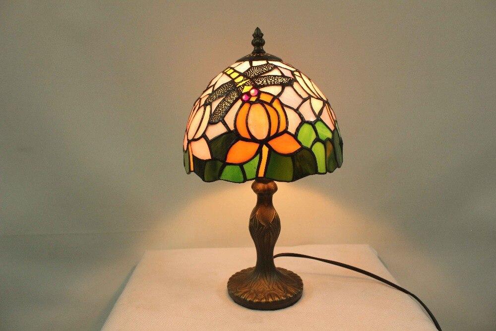 Tiffany Lampen Outlet : Freies tischlampen libelle tiffany glas schreibtisch leuchte