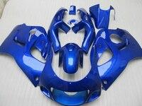 Nadwozie fairing zestaw Do Suzuki gsxr 600 750 1996-2000 96 97 98 99 00 (100% ABS) niebieskim gsxr600 owiewek m72