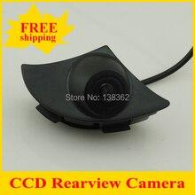 Promoción cámara de visión delantera del coche para Toyota RAV4/COROLLA/Reiz/Vios/highlander/prado2700/4000/2010 chip ccd