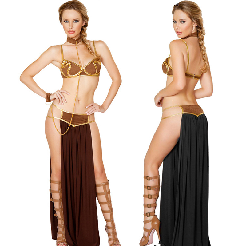 New Halloween Athena Goddess Sexy Sexy Stage Performance Clothes Female Prisoner Set Indian Costume Carnival Night Party Play Co