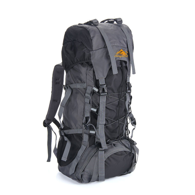 60L Large Outdoor Backpack Waterproof Unisex Nylon Travel Bags Camping Hiking Climbing Backpacks Waterproof Rucksack Sport bag