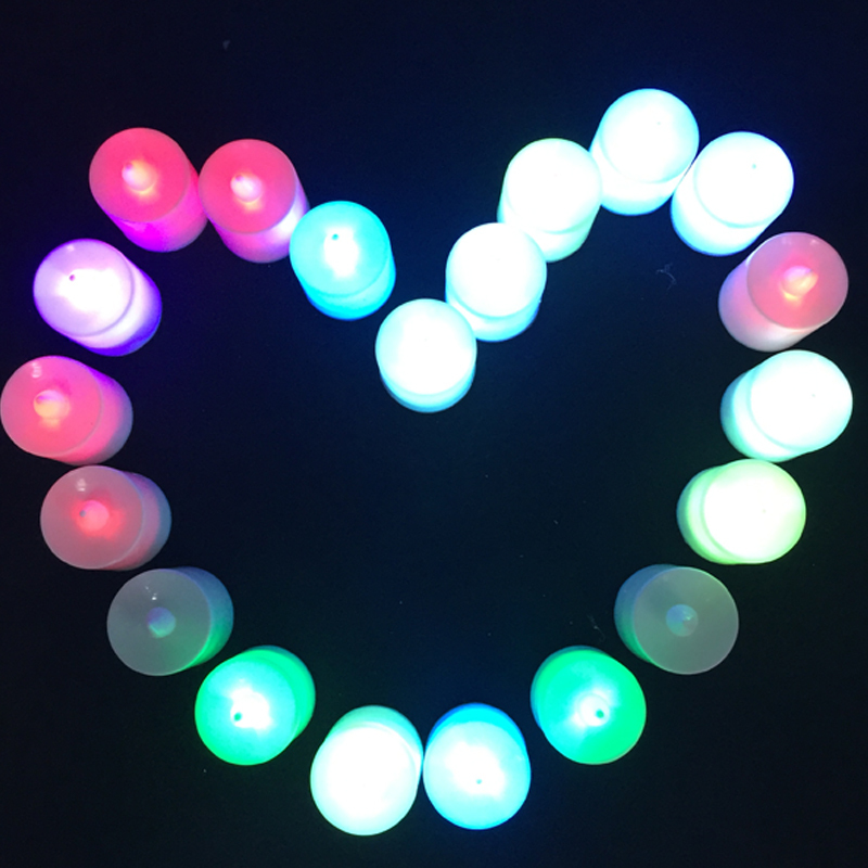 20 unids / lote forma de vela LED Fliker sin llama luz de la lámpara - Para fiestas y celebraciones