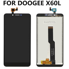 For DOOGEE X60L LCD Display+Touch Screen Digitizer Assembly Replacement for DOOGEE X60L lcd цена 2017