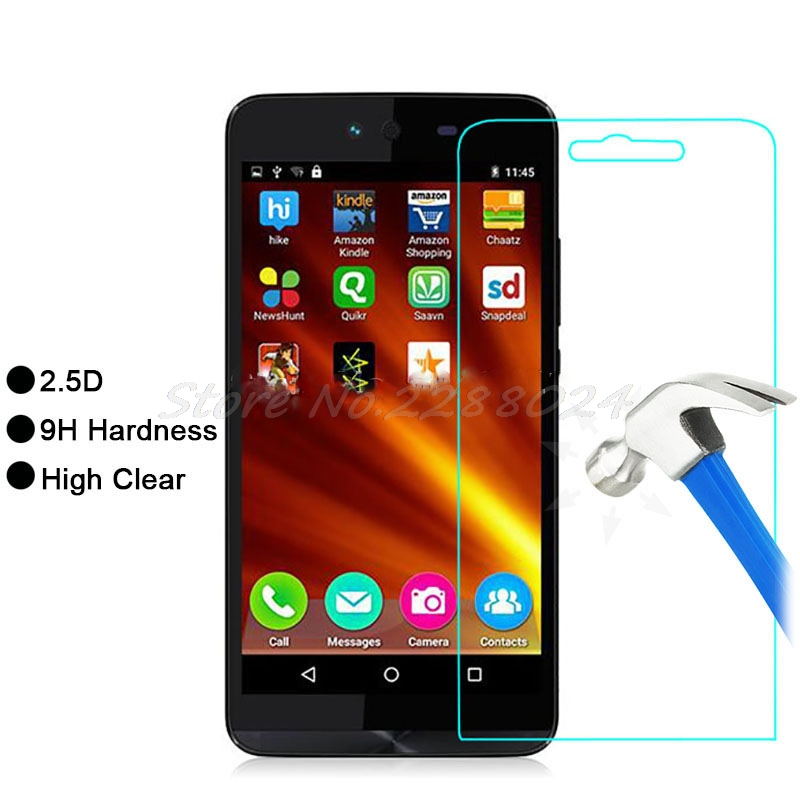 Ultra-thin New For Micromax Bolt Q338/ Canvas Magnus 2 Q338 Tempered Glass Screen Protector Premium Front Clear Protective