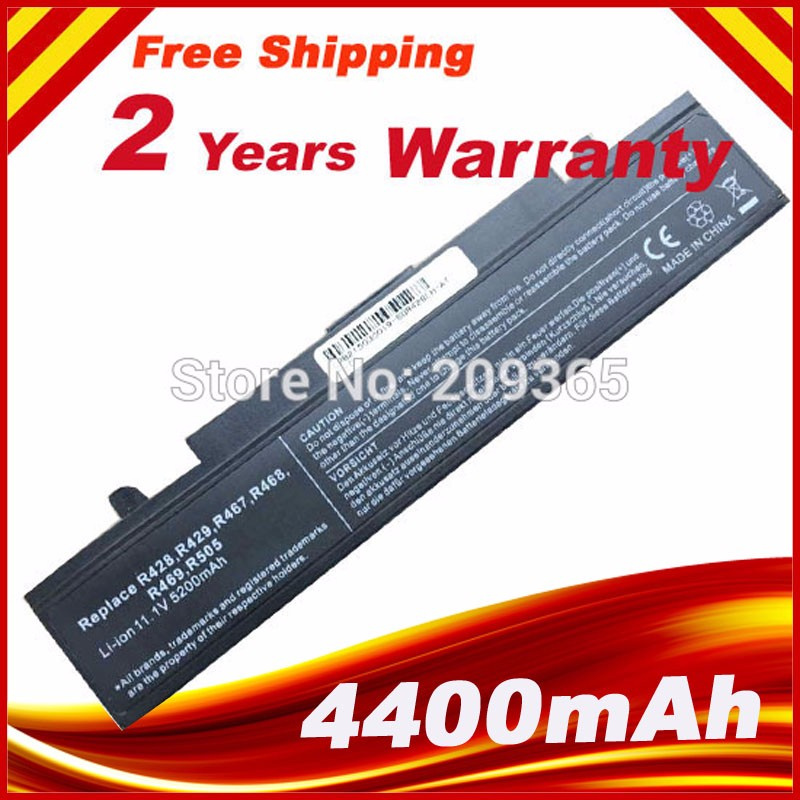 Laptop Battery For Samsung R580 R540 R519 R525 R430 R530 RV511 RV411 RV508 R528 AA-PB9NC6B AA-PB9NS6B PB9NC6B aa pb9ns6b lcd display screen touch panel digitizer with frame for 5 2 meizu pro 6 pro6 pro 6s pro6s white black color free shipping