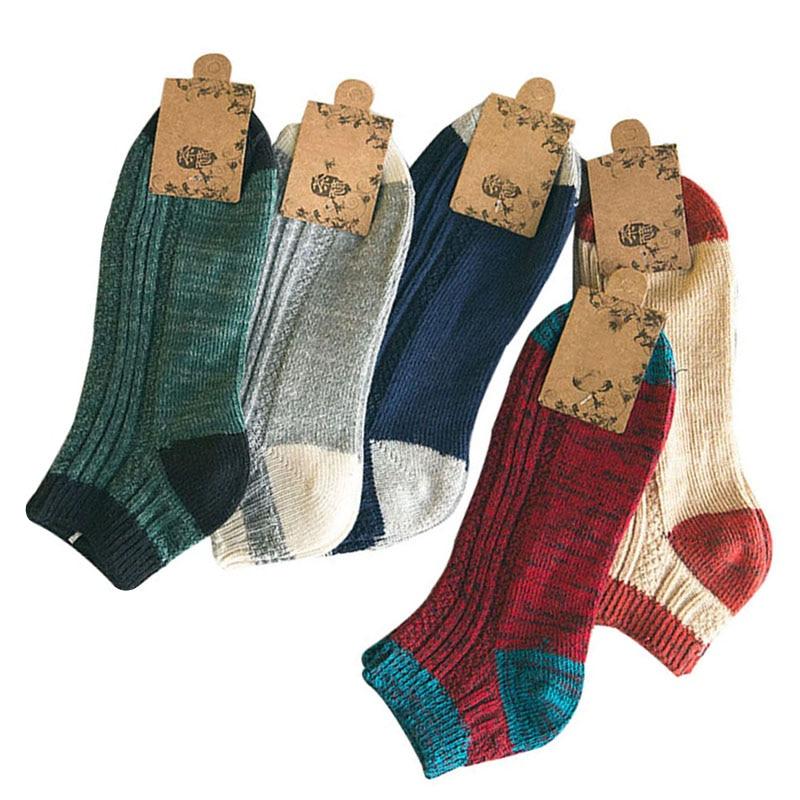 5 Pair Men Sock Personalized Comfortable Breathable Sweaty Sweaty Men Sock Casual And Fashionable Men Shaping Casua Fashion Sock