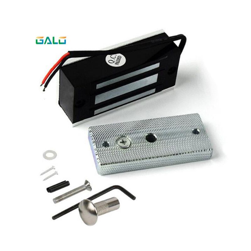 60KG Electric Lock Fail Secure Magnetic Induction Door Lock DC 12V For Door Door Magnetic Lock