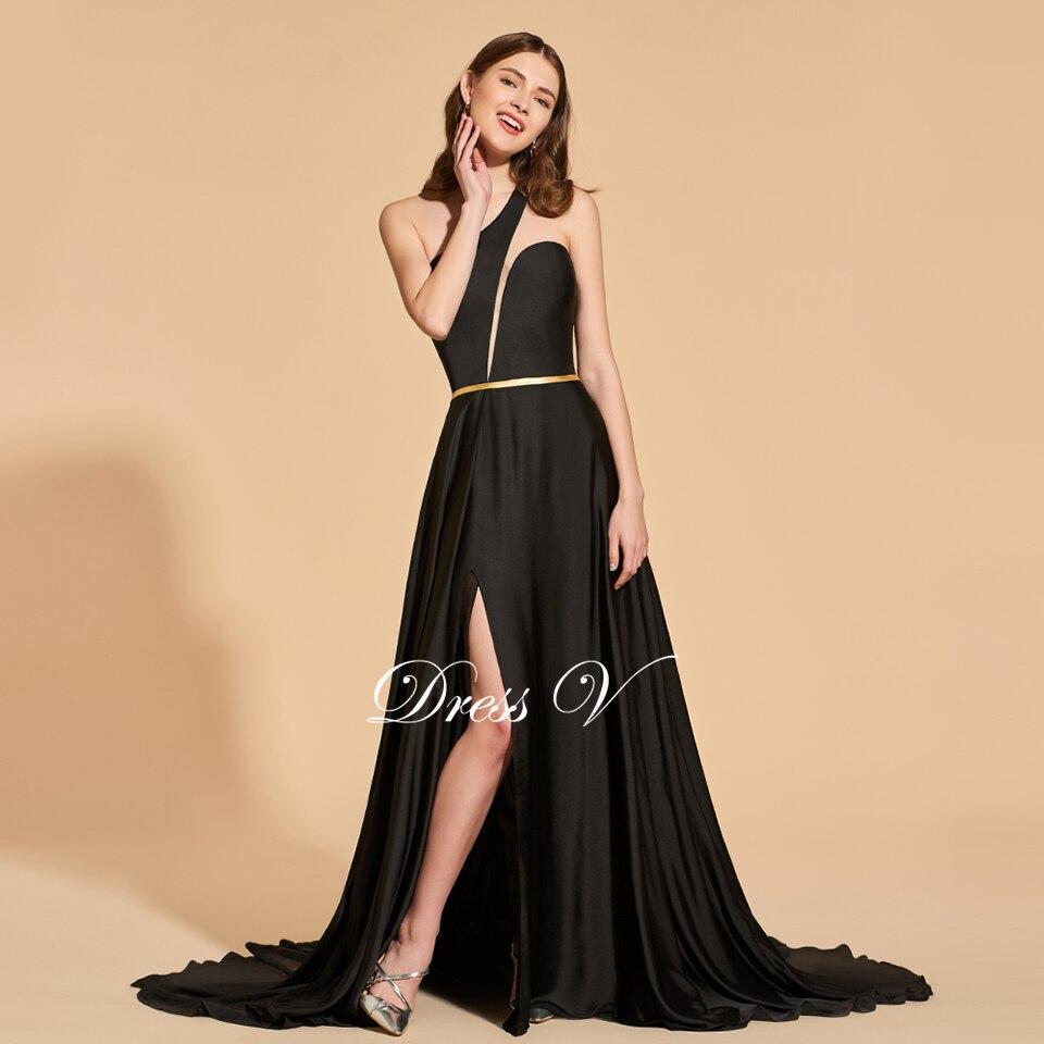 Black Elegant Prom Dresses