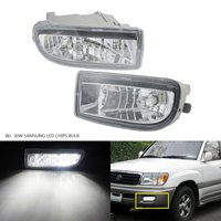ANGRONG 2x For Toyota Land Cruiser Amazon FJ100 98 07 SAMSUNG LED 30W Front Fog Light Lamps L&R