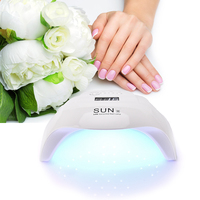 54W UV LED Nail Dryer Nail Lamp 36 LEDS LCD Display Auto Sensing Sensor Curing Gel Polish Manicure Drying Lamp Nail Art Tools