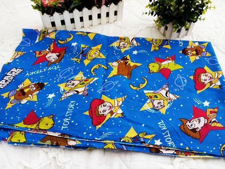 155 cm * 50 cm de Dibujos Animados Toy Story Textil Del Hogar Del Algodón tejido