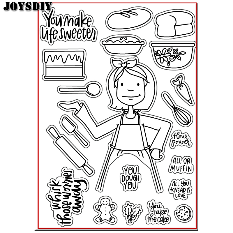 YOU MAKE LIFE SWEETEST YOU Scrapbook DIY photo cards account rubber stamp clear stamp transparent stamp Handmade card stamp scrapbook diy photo cards account rubber stamp clear stamp transparent stamp ancient lady hanger mirror paris 14x18cm sd136