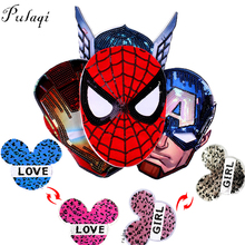 Pulaqi Sequin Avengers Spiderman Patch On Clothes Sewing On Patches Embroidered Reversible Patches For Clothing Kids Applique F sequins patches avengers led light patch embroidered patches for clothes diy sewing on patches for clothing applique stripe f